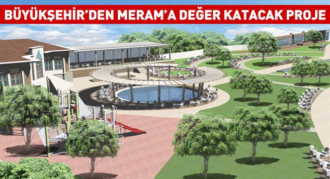 Büyükşehir'den Çumra'ya Şehir Konağı
