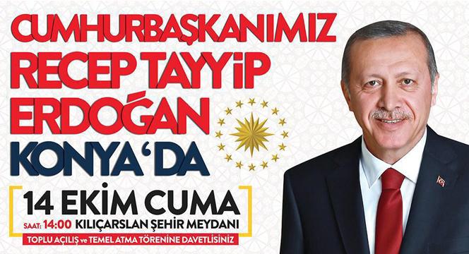 Cumhurbaşkanı Erdoğan: Konya, 15 Temmuz'da Ahde Vefasını Gösterdi