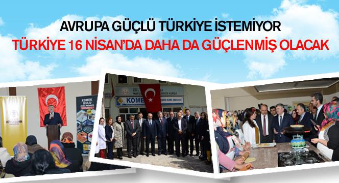 Avrupa Güçlü Türkiye İstemiyor