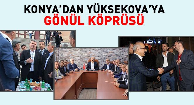 Konya'dan Yüksekova'ya Gönül Köprüsü