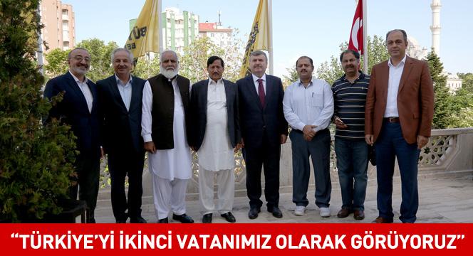 """""""Türkiye'yi İkinci Vatanımız Olarak Görüyoruz"""""""